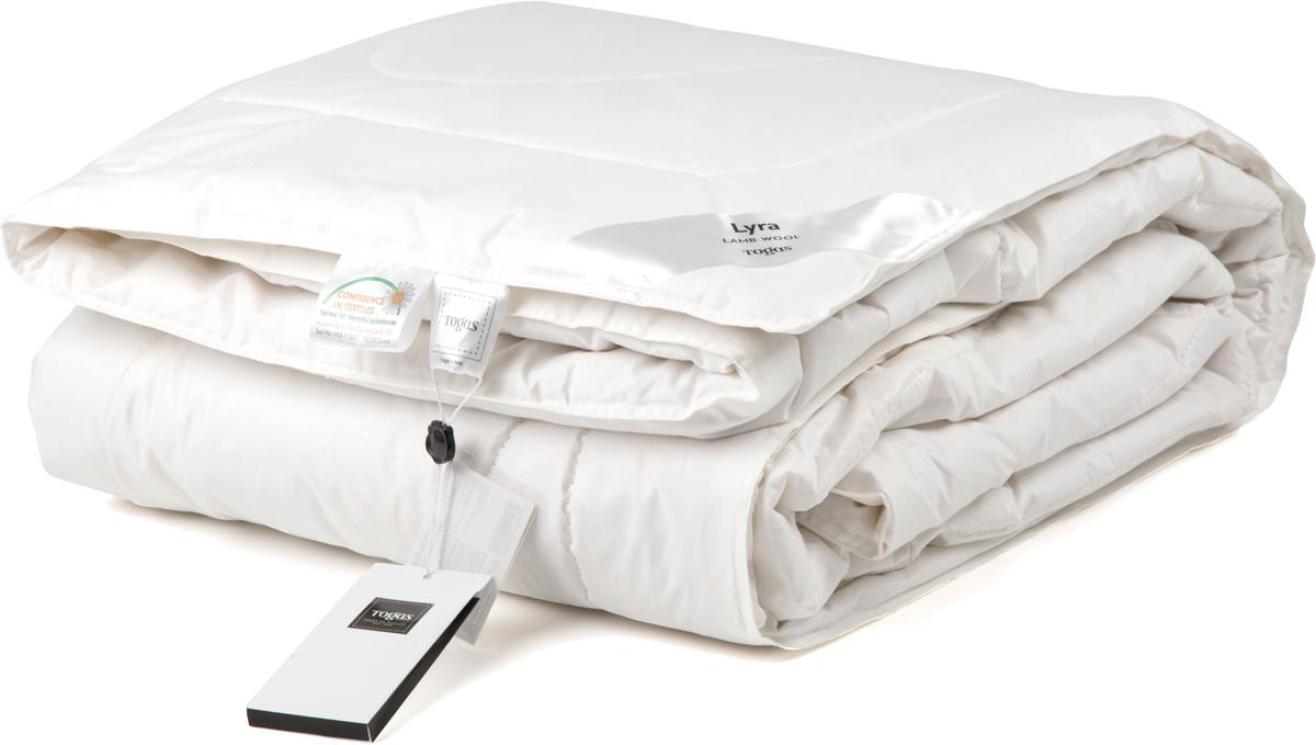 Одеяло Togas Лира, наполнитель: овечья шерсть, цвет: белый, 220 х 240 см10503Одеяло Лира. Наполнитель: шерсть. Состав чехла: 100% хлопок 233ТС. Состав наполнителя: 100% овечья шерсть 250гр/м2. Степень тепла: всесезонное одеяло. Комплектация: 1 одеяло. Размер: 220 x 240 см. Уход: может применяться машинная стирка при температуре не выше 30°C, не отбеливать, не гладить, сухая чистка.