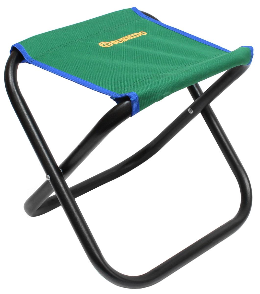 Стул складной Bushido, цвет: зеленый, 35 х 28 х 33 см09840-20.000.00Складной стул без спинки. Размер: 350 х 280 х 330 мм. Диаметр трубы - 22 мм. Максимальная нагрузка 100 кг. Предназначен для отдыха на природе, пикника или рыбалки.