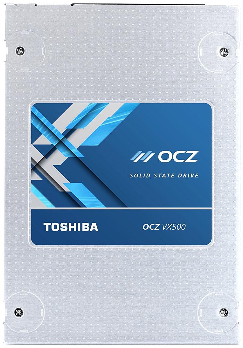OCZ VX500 1TB SSD-накопитель (VX500-25SAT3-1T)VX500-25SAT3-512GТвердотельный накопитель OCZ VX500 представляет собой высокопроизводительное и энергоэффективное решение для хранения данных, позволяющие повысить производительность работы домашних компьютеров и ноутбуков.Данная модель значительно повышает скорость работы системы, обеспечивая более высокую скорость запуска, загрузки и передачи данных по сравнению с механическими жесткими дисками.В накопителях применяются микрочипы флеш-памяти Toshiba MLC NAND (многоуровневые ячейки), изготовленные по 15-нанометровой технологии. Задействован контроллер Toshiba TC358790.Устройства характеризуются толщиной корпуса 7 мм, благодаря чему подходят для использования не только в настольных компьютерах, но и в ноутбуках .