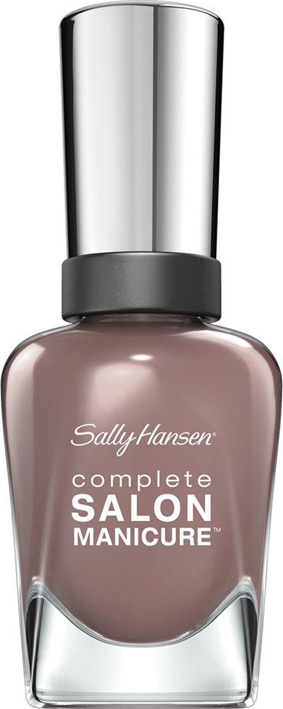 Sally Hansen Salon Manicure Keratin Лак для ногтей тон com in chic 370 14,7 мл002722Комплекс Complete Salon Manicure сочетает семь эффектов в одном флаконе, плюс кисточку для безукоризненного покрытия, легкого нанесения и салонных результатов. Эта формула всё-в-одном обеспечивает до 10 дней устойчивого к сколам покрытия и включает основу, средство для роста, вдохновленный подиумом цвет, топ, финишное покрытие с гелевым сиянием, устойчивость к сколам и укрепляющее средство с кератиновым комплексом, делающим ногти до 64% сильнее. Это всё, что вам нужно, чтобы достичь профессиональных результатов при окрашивании ногтей на дому!