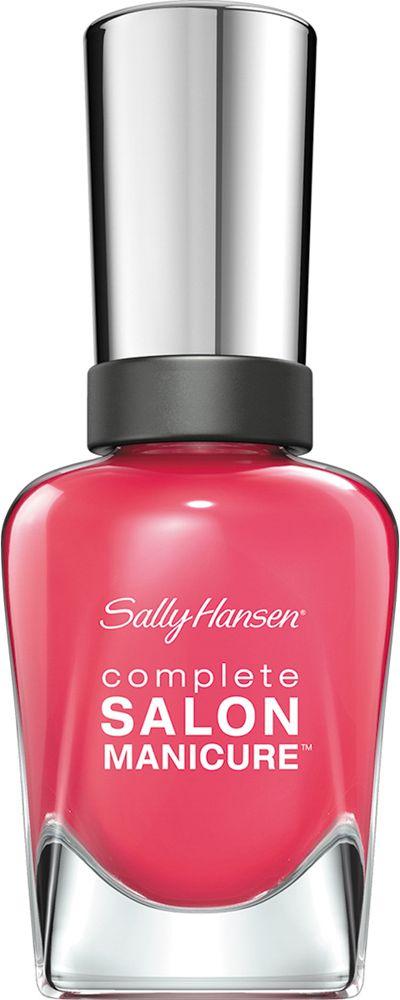 Sally Hansen Salon Manicure Keratin Лак для ногтей тон i pink i can 540 14,7 млCRS-80273547Комплекс Complete Salon Manicure сочетает семь эффектов в одном флаконе, плюс кисточку для безукоризненного покрытия, легкого нанесения и салонных результатов. Эта формула всё-в-одном обеспечивает до 10 дней устойчивого к сколам покрытия и включает основу, средство для роста, вдохновленный подиумом цвет, топ, финишное покрытие с гелевым сиянием, устойчивость к сколам и укрепляющее средство с кератиновым комплексом, делающим ногти до 64% сильнее. Это всё, что вам нужно, чтобы достичь профессиональных результатов при окрашивании ногтей на дому!