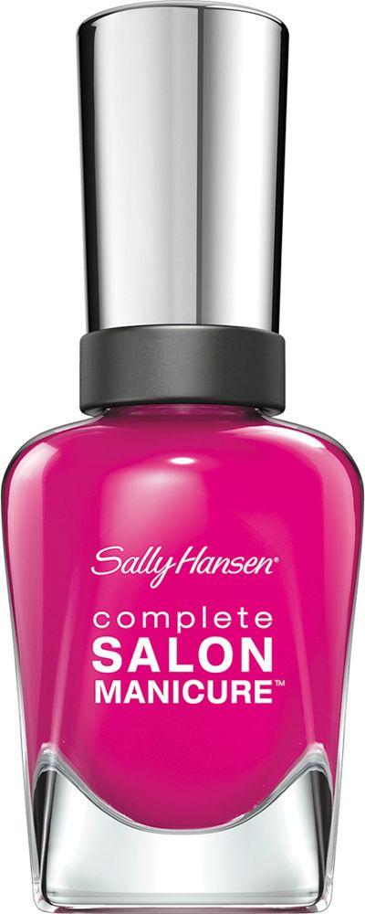 Sally Hansen Salon Manicure Keratin Лак для ногтей тон cherry up #542 14,7 мл002722Комплекс Complete Salon Manicure сочетает семь эффектов в одном флаконе, плюс кисточку для безукоризненного покрытия, легкого нанесения и салонных результатов. Эта формула всё-в-одном обеспечивает до 10 дней устойчивого к сколам покрытия и включает основу, средство для роста, вдохновленный подиумом цвет, топ, финишное покрытие с гелевым сиянием, устойчивость к сколам и укрепляющее средство с кератиновым комплексом, делающим ногти до 64% сильнее. Это всё, что вам нужно, чтобы достичь профессиональных результатов при окрашивании ногтей на дому!