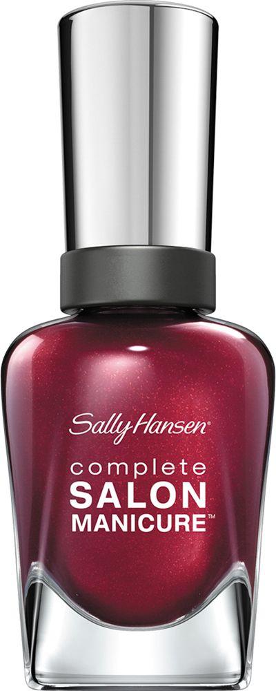 Sally Hansen Salon Manicure Keratin Лак для ногтей тон wine not 620 14,7 млCRS-80273547Комплекс Complete Salon Manicure сочетает семь эффектов в одном флаконе, плюс кисточку для безукоризненного покрытия, легкого нанесения и салонных результатов. Эта формула всё-в-одном обеспечивает до 10 дней устойчивого к сколам покрытия и включает основу, средство для роста, вдохновленный подиумом цвет, топ, финишное покрытие с гелевым сиянием, устойчивость к сколам и укрепляющее средство с кератиновым комплексом, делающим ногти до 64% сильнее. Это всё, что вам нужно, чтобы достичь профессиональных результатов при окрашивании ногтей на дому!