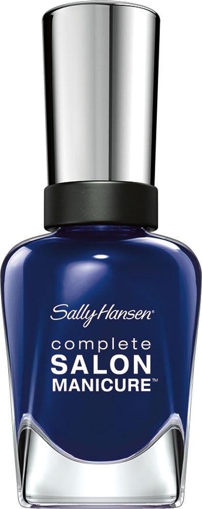 Sally Hansen Salon Manicure Keratin Лак для ногтей,тон a bleu attitude6800Комплекс Complete Salon Manicure сочетает семь эффектов в одном флаконе, плюс кисточку для безукоризненного покрытия, легкого нанесения и салонных результатов. Эта формула всё-в-одном обеспечивает до 10 дней устойчивого к сколам покрытия и включает основу, средство для роста, вдохновленный подиумом цвет, топ, финишное покрытие с гелевым сиянием, устойчивость к сколам и укрепляющее средство с кератиновым комплексом, делающим ногти до 64% сильнее. Это всё, что вам нужно, чтобы достичь профессиональных результатов при окрашивании ногтей на дому!