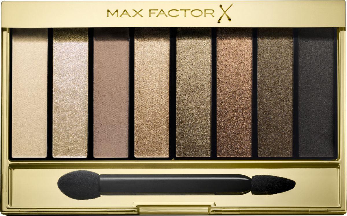 Max Factor Тени для век Masterpiece Nude Palette, Тон 02 golden nudes0003934Max Factor Masterpiece Nude Palette— это универсальная палитра теней для придания выразительности глазам. Благодаря восьми идеально подобранным оттенкам ты можешь создать гламурный макияж глаз в стиле «нюд». Идеально подобранные оттенки теней, от приглушенных до насыщенных, позволяют подчеркнуть выразительность глаз, создавая множество образов— от повседневных нюдовых до соблазнительных смоки. Формула: Запеченные тени отдают больше пигмента для более яркого, насыщенного цвета. Тени из палетки легко накладываются и имеют бархатистую текстуру. Они делятся на матовые, шиммерные и блестящие. Выбери из трех палеток ту, которая подходит твоему тону кожи. Найди палитру, которая идеально подходит для твоего тона кожи: Cappuccino Nudes для теплых тонов кожи; Rose Nudes для холодных тонов кожи; Golden Nudes для темных тонов кожи.
