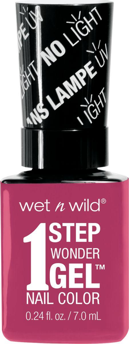 Wet n Wild Гель-лак для ногтей 1 Step Wonder Gel E7231 it`s sher-bert day6800Лак держится до двух недель. Сохнет без использования ультрафиолетовой лампы, легко удаляется и не повреждает ногтевую пластину, не содержит толуола и фталатов.