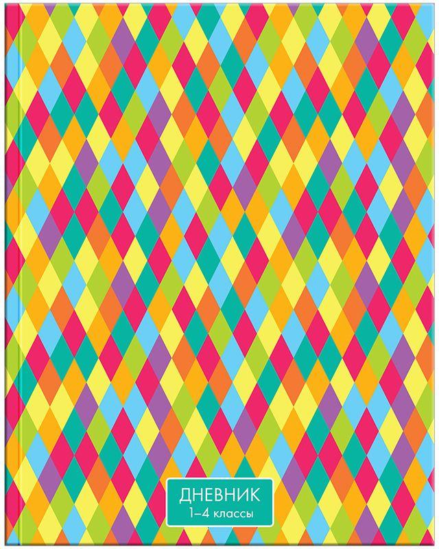 Спейс Дневник школьный Яркие краски для 1-4 классов Дм48лт_1350472523WDДневник для учеников младших классов в интегральном переплете. Обложка из целлюлозного картона с глянцевой ламинацией. Форзацы запечатаны золотистой краской. Дневник содержит справочную информацию для младших классов.