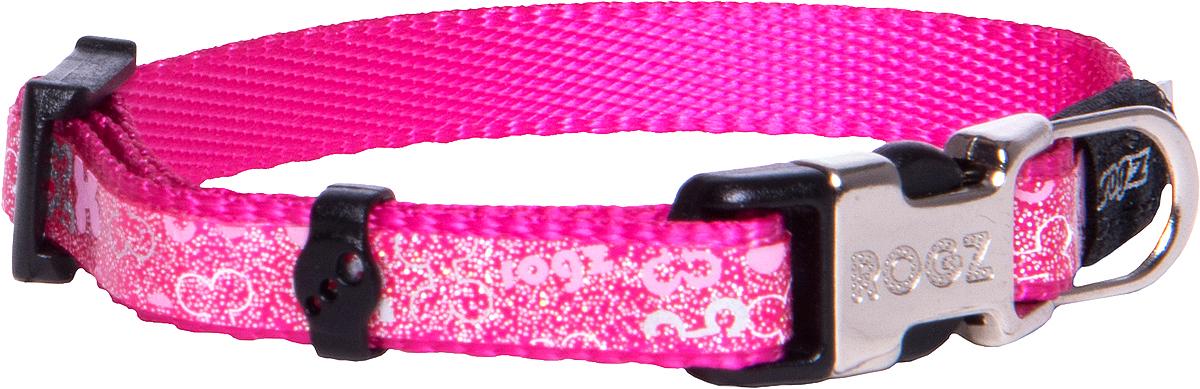 Ошейник для собак Rogz Trendy , ширина 0,8 см. Размер XS. HB520K0120710Веселый и яркий дизайн.Нежнейшая мягкость и гибкость.Светоотражающие материалы для обеспечения лучшей видимости собаки в темное время суток.Материалы: 100 % полиэстер, полиуретан,металл, пластик. Полотно: 100% полиэстер, полиуретан. Пряжка: металл, пластик