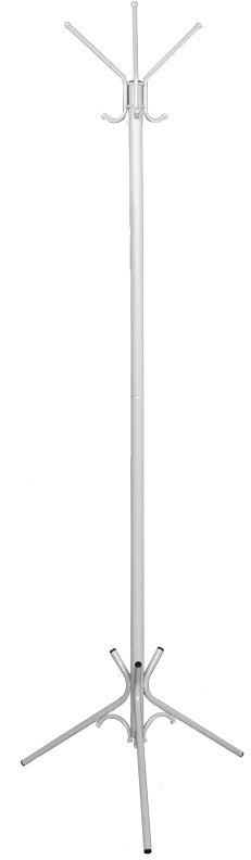 Вешалка напольная ЗМИ Тройка, цвет: белый, серебристый, 176 х 63 смS03301004Назначение: Для размещения верхней одежды.Область применения: В любых помещениях – дом, офис, общепит и других.Материал: Стальная труба диаметром 10, 16, 30 мм; стальные колпачки; пластиковые заглушки; полимерно-порошковое покрытие.Конструкция: Разборная, состоит из 2-х сварных частей, стыкуется по центру.Упаковка: ПЭТ пленка.Габариты (Д х Ш х В):В собранном виде: 1760 х 630 мм.В упакованном виде: 975 х 555 мм. Вес Нетто: 1,9 кг. Вес Брутто: 2 кг. Объем: 0,03 куб.м.Отличительные особенности:- надежная сварная конструкция; - занимает немного места; - классическая модель. При правильной эксплуатации срок службы 10 лет.