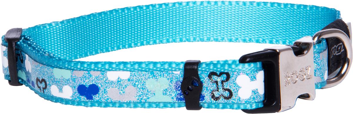 Ошейник для собак Rogz Trendy , ширина 1,2 см. Размер S. HB521B0120710Веселый и яркий дизайн.Нежнейшая мягкость и гибкость.Светоотражающие материалы для обеспечения лучшей видимости собаки в темное время суток.Материалы: 100 % полиэстер, полиуретан,металл, пластик. Полотно: 100% полиэстер, полиуретан. Пряжка: металл, пластик