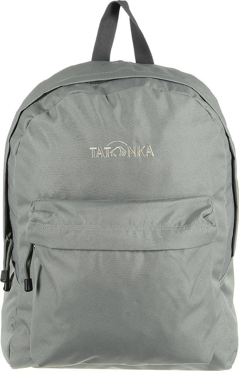 Рюкзак городской Tatonka Hunch Pack, цвет: теплый серый, 22 лЛЦ0046Tatonka Hunch Pack - практичный городской рюкзак. Рюкзак имеет одно большое отделение. Для всего, что не помещается в основное отделение или должно находиться под рукой, рюкзак Tatonka Hunch Pack располагает передним накладным карманом на молнии. Спинка удобно прилегает и обеспечивает комфорт при ношении. Лямки обеспечивают комфорт даже в жаркую погоду.