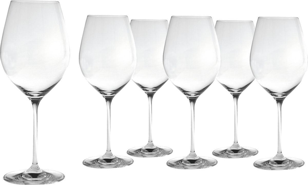 Набор бокалов Salt&Pepper Cuvee, для красного вина, 600 мл, 6 штVT-1520(SR)Невероятная коллекция Cuvee, выполненная из стекла, является продуктом высокого качества. При производстве используются самые современные технологии. Утонченная форма позволит Вам еще больше наслаждаться любимыми напитками.
