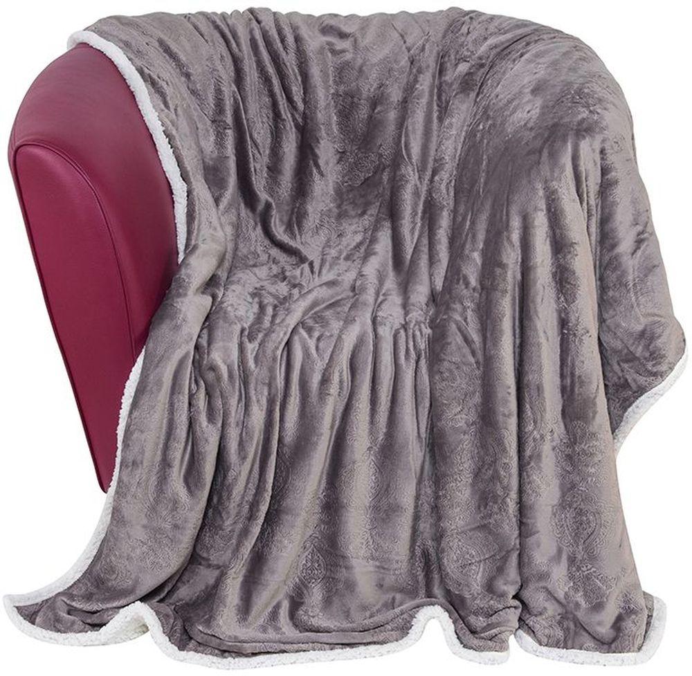 Плед EL Casa Узор, цвет: серый, белый, 150 х 200 см9135Уютный, легкий и прочный плед в оригинальном дизайне послужит украшением декора вашей комнаты и согреет вас и ваших близких. Устойчив к истиранию и скатыванию, не мнется, не деформируется, сохранит первоначальный вид даже при активном использовании и многочисленных стирках. Такой плед идеален в качестве подарка на любой праздник.