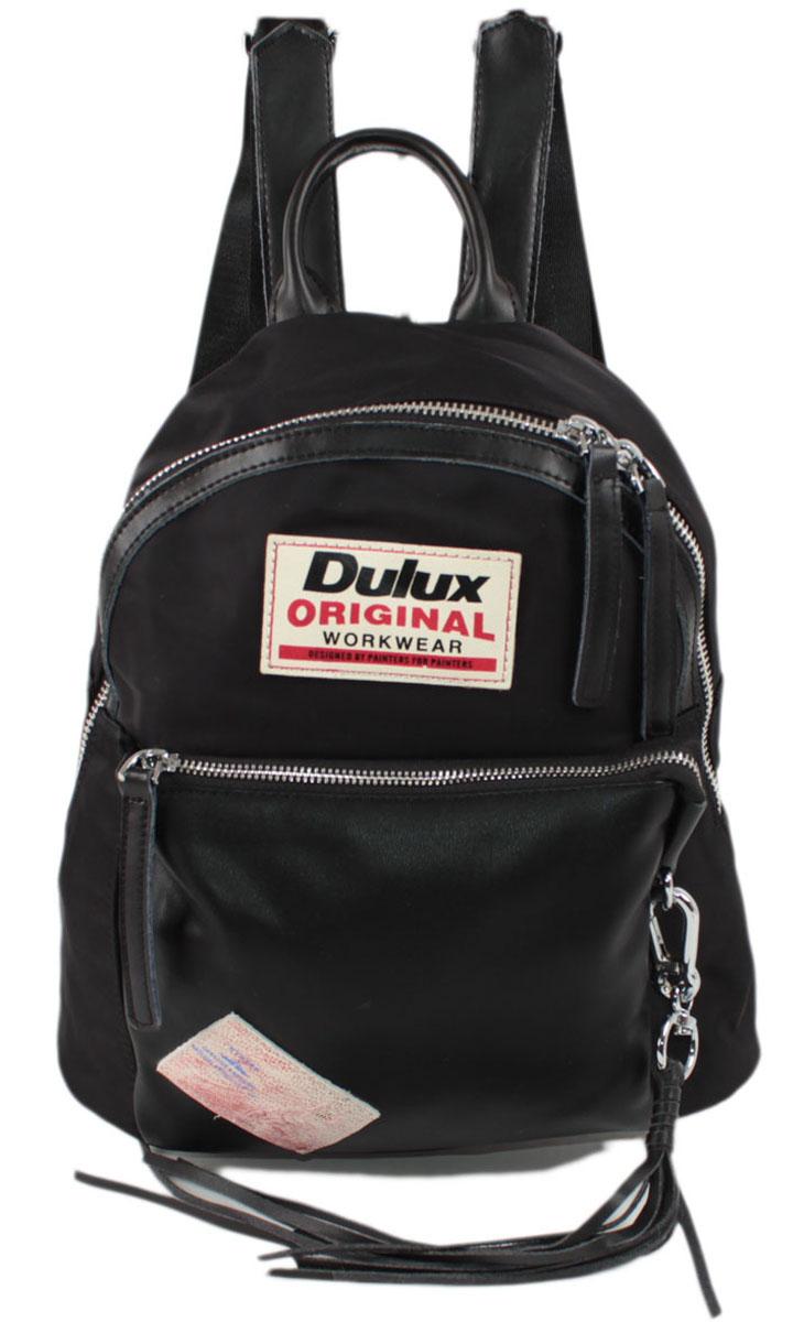 Рюкзак женский Flioraj, цвет: черный. 2190-1BP-001 BKЗакрывается на молнию. Внутри одно отделение, два кармана для мобильного телефона, карман на молнии, снаружи два кармана на молнии. Высота ручки 8 см.