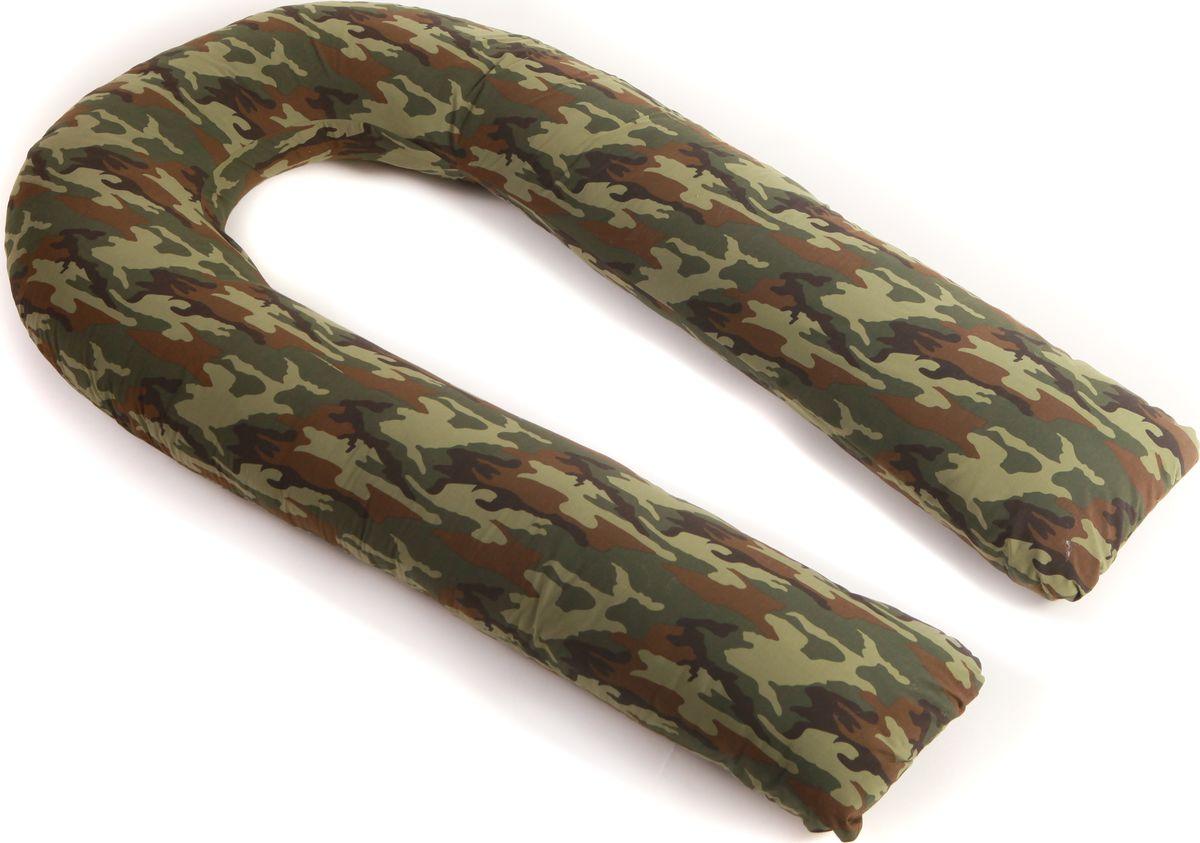 Body Pillow Подушка для беременных U-образная с наволочкой цвет хаки 90 х 150 см10503U образная подушка– самая многофункциональная, удобная и большая. Преимущество не только в размерах, но и в форме. Подушка в форме подковы эргономично поддерживает тело со всех сторон.