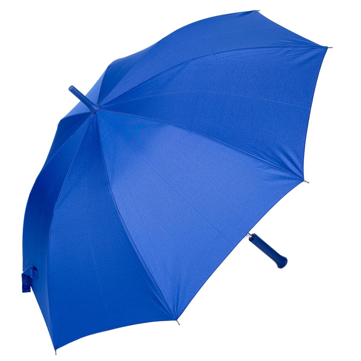 Зонт-трость женский Nuages, цвет: синий. NZ1240/1blueБрошь-кулонЗонт - трость. Однотонный. 8 спиц. Автоматическое открытие.