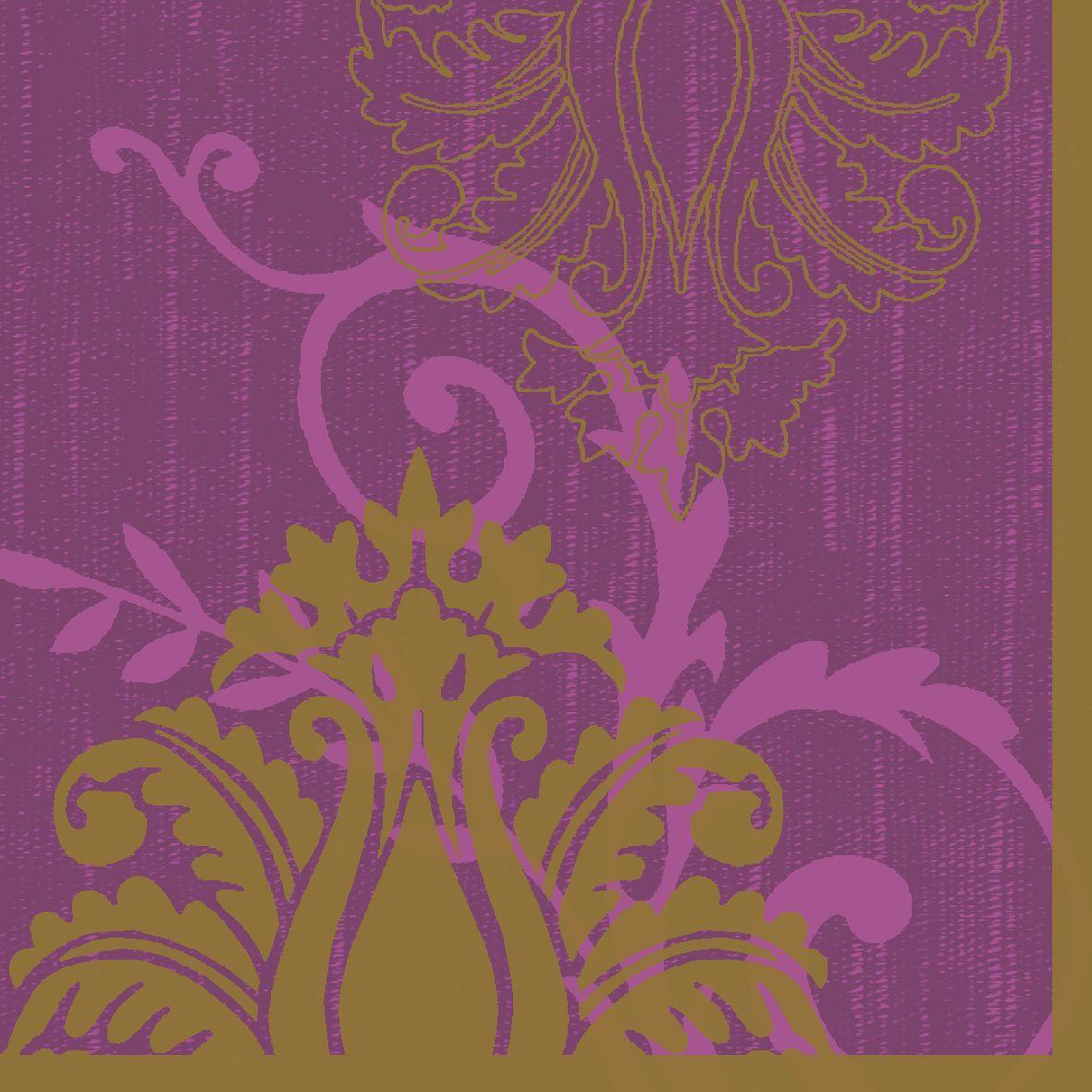 Салфетки бумажные Duni, 3-слойные, цвет: фиолетовый, 33 х 33 см790009Трехслойные бумажные салфетки изготовлены из экологически чистого, высококачественного сырья - 100% целлюлозы. Салфетки выполнены в оригинальном и современном стиле, прекрасно сочетаются с любым интерьером и всегда будут прекрасным и незаменимым украшением стола.