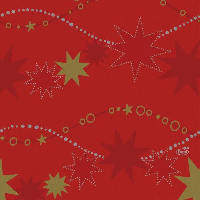 Салфетки бумажные Duni, 3-слойные, цвет: красный, 33 х 33 смVT-1520(SR)Трехслойные бумажные салфетки изготовлены из экологически чистого, высококачественного сырья - 100% целлюлозы. Салфетки выполнены в оригинальном и современном стиле, прекрасно сочетаются с любым интерьером и всегда будут прекрасным и незаменимым украшением стола.