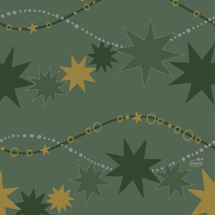 Салфетки бумажные Duni, 3-слойные, цвет: зеленый, 33 х 33 см. 164206VT-1520(SR)Трехслойные бумажные салфетки изготовлены из экологически чистого, высококачественного сырья - 100% целлюлозы. Салфетки выполнены в оригинальном и современном стиле, прекрасно сочетаются с любым интерьером и всегда будут прекрасным и незаменимым украшением стола.