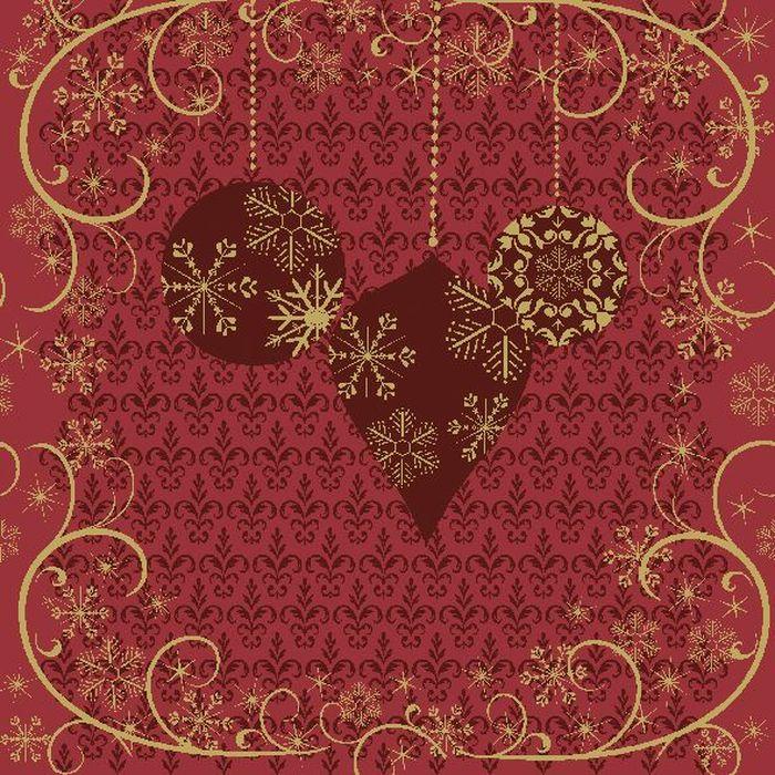 Салфетки бумажные Duni, 3-слойные, цвет: красный, 33 х 33 см10503Трехслойные бумажные салфетки изготовлены из экологически чистого, высококачественного сырья - 100% целлюлозы. Салфетки выполнены в оригинальном и современном стиле, прекрасно сочетаются с любым интерьером и всегда будут прекрасным и незаменимым украшением стола.