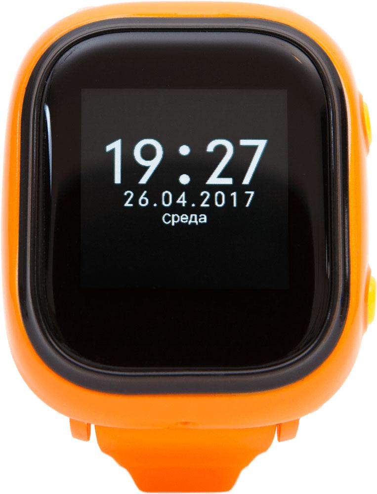EnBe Children Watch умные детские часы с GPS трекером, OrangeWI503Q-3LBGE0005EnBe Children Watch - это абсолютно новая разработка умных детских GPS часов с функционалом сотового телефона. Устройство позволит вести тотальный контроль за своими детьми и при этом иметь уникальную возможность двухсторонней связи с часами. А множество внедренных детских опций превратят инновационный гаджет в полезный и развлекательный наручный комплекс.В данной модели предусмотрена тревожная кнопка, расположенная в самом доступном месте, после нажатия на которую, родители мгновенно получают уведомление на заранее внесенные экстренные номера.Шагомер. Увлекательная функция, которая заинтересует вашего ребенка и даст возможность самостоятельно развиваться физически и при этом вести наблюдение за проделанной дистанцией.Расписание занятий. Полезная функция для детей, теперь можно внести список в приложение на часах и на мониторе будет отображаться какой будет следующий урок.GPS-трекер. EnBe Children Watch являются наиболее точными при слежении ребенка при помощи WI-FI соединения, либо же через GPS/AGPS, LBS. Помимо слежения в реальном времени, вы сможете просмотреть историю всех перемещений за предыдущий месяц.Отдаление ребенка не более 10 метров. Функция разрыва Bluetooth соединения часов с телефоном, в случае отдаления на 10 метров, часы и телефон начнут издавать звуковой сигнал. Данная опция пригодится во время посещения детских площадок, торговых центров и других развлекательных мероприятиях.Звонки на часы. Доступна возможность обычного звонка на часы телефон, что позволяет связываться с ребенком в любое время.Гаджет оснащен цветным сенсорным монитором с диагональю 1.22. Кнопки управления (2 штуки) отвечающие за моментальный вызов отцу или маме, расположены на корпусе. Часы выполнены из качественного приятного на ощупь пластика.Тип SIM-карты: MicroSIM Датчик снятия с руки Встроенный динамик Встроенный микрофон
