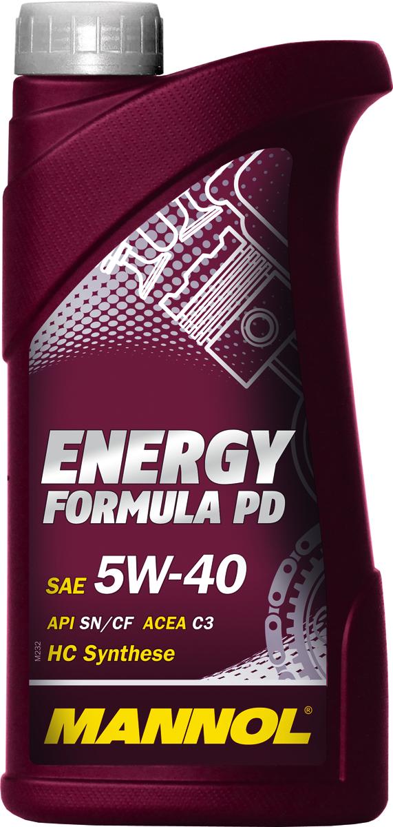 Моторное масло MANNOL Energy Formula PD, 5W-40, API SN/SM/CF, синтетическое, 1 л2706 (ПО)Высокотехнологичное синтетическое моторное масло, предназначенное для современных бензиновых и дизельных двигателей автомобилей стандарта EURO IV и EURO V. Разработано с учетом соответствия последним техническим требованиям двигателей, оснащенных турбонаддувом и непосредственным впрыском, насос-форсунками (Pumpe-D?se), а также современными системами доочистки выхлопных газов и требующих применения масел стандарта ACEA C3. Обладает высокими антиокислительными свойствами и превосходными моюще-диспергирующими характеристиками, что предупреждает образование отложений и поддерживает исключительную чистоту деталей двигателя. Синтетическая основа масла гарантирует легкий холодный пуск даже при экстремально низких температурах. Совместимо с каталитическими конверторами и сажевыми фильтрами (DPF). Может использоваться в автомобилях, работающих на природном (CNG) и сжиженном (LPG) газе.