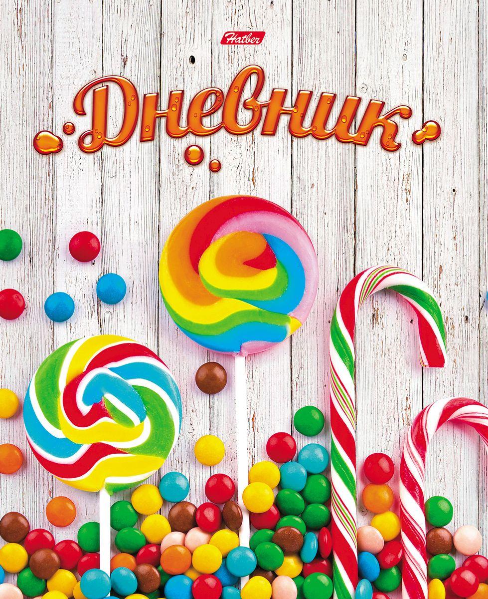 Hatber Дневник школьный Лайт Lollipop06005/420076Дневник с интегральной обложкой ЛАЙТ очень удобен в использовании. В качестве дизайна подобрана самая современная и интересная тема.