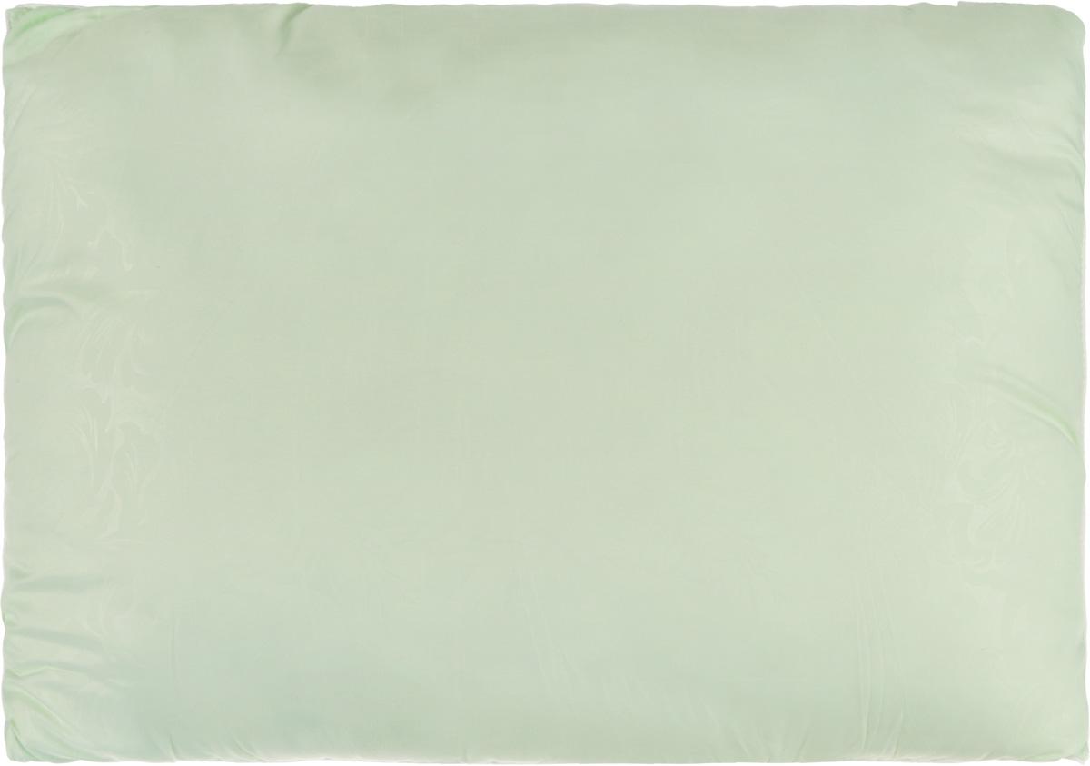 Подушка Smart Textile Безмятежность, наполнитель: лебяжий пух, цвет: светло-зеленый, 50 х 70 смS03301004Удобная и мягкая подушка Smart Textile Безмятежность подарит здоровый сон и отличный отдых. Чехол подушки на молнии выполнен из микрофибры с красивым узором. В качестве наполнителя используется лебяжий пух.Лебяжий пух - это 100% сверхтонкое высокосиликонизированное волокно. Такой наполнитель мягкий, приятный на ощупь и гипоаллергенный. Подушка удобна в эксплуатации: легко стирается, быстро сохнет, сохраняя первоначальные свойства, устойчива к воздействию прямых солнечных лучей, износостойка и прочна. Изделие обладает высокой теплоизоляционной способностью - не вызывает перегрева головы.Подушка обеспечит правильную поддержку головы и шеи во время сна. Наполнитель не сбивается в комки и сохраняет тепло. Подушка с этим наполнителем подойдет людям, склонным к аллергии, так как отталкивает пыль и не впитывает запахи.
