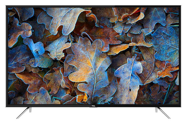 TCL LED43D2930US, Black телевизорUE49MU6400UXRUТелевизор TCL LED43D2930US успешно совмещает в себе все функции, присущие полноценному развлекательномумедиацентру. Сочетание превосходного изображения и современных технологий предоставит вам возможностьнасладиться невероятно четким и ярким изображением. Сверхчеткое изображение нового телевизора TCL позволит в динамике рассмотреть ранее недоступныемельчайшие детали, наслаждаясь насыщенностью цветов и контрастностью! Стандарт видеоизображенияпозволяет просматривать фильмы и компьютерную графику в разрешении 4К - 3840 x 2160.Smart-телевизор TCL откроет для вас новый мир, объединяющий сотни и тысячи телеканалов, интернет- серфинг и вселенные онлайн-игр. Загружайте любимые фильмы, делитесь своими лучшими фотографиями ивидеозаписями в социальных сетях, слушайте музыку и узнавайте интересующие вас новости с помощьюудобных предустановленных приложений.Звук Dolby Digital сделает обладателя ТВ участником событий вместе с киногероями. Стереофонический,мощный, обогащенный басами звук никого не оставит равнодушным.Тюнер DVB-T2 позволяет без дополнительного оборудования смотреть телеканалы в цифровом качестве безпомех.Стильный корпус легко впишется в любой интерьер, а специальная возможность крепления телевизора настену позволит разместить устройство с максимальным удобством.