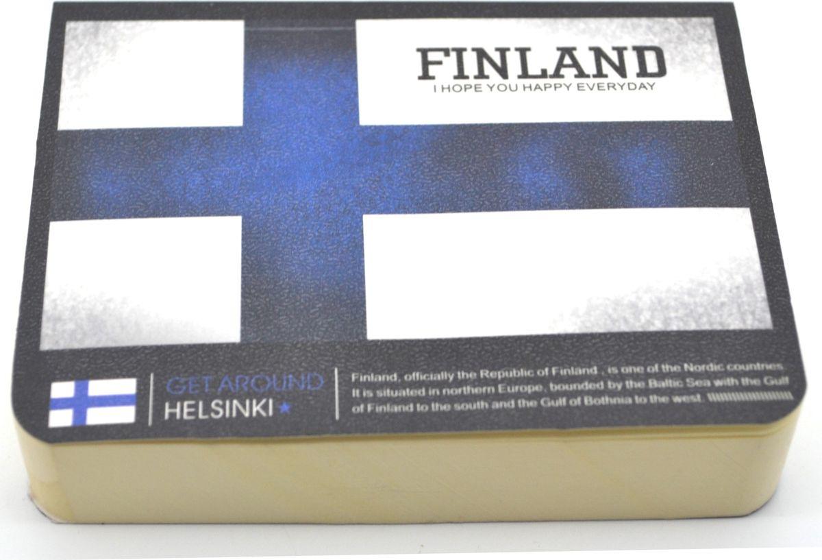 Zhelang Блокнот Страны Финляндия 185 листов8360ССтильный блокнот с белыми нелинованными страницами. 185 листов.