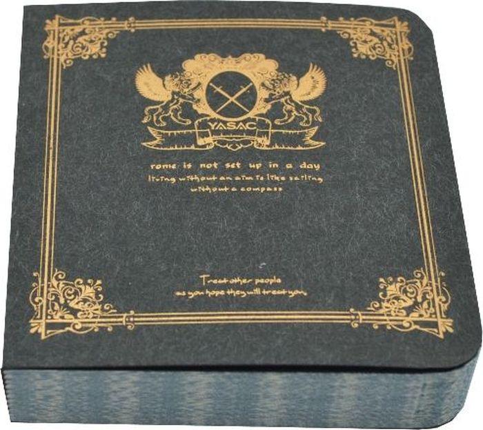 Zhelang Блокнот 80 листов в линейку цвет черный8360СБлокнот с золотым принтом на обложке. Внутри 80 линованных листов с окантовкой.