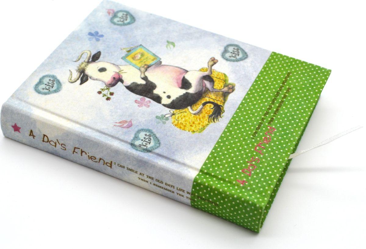 Zhelang Блокнот Рисованные картинки 128 листов в линейку 410872523WDБлокнот с текстильной обложкой. Внутри 128 листов с принтом в виде забавных картинок