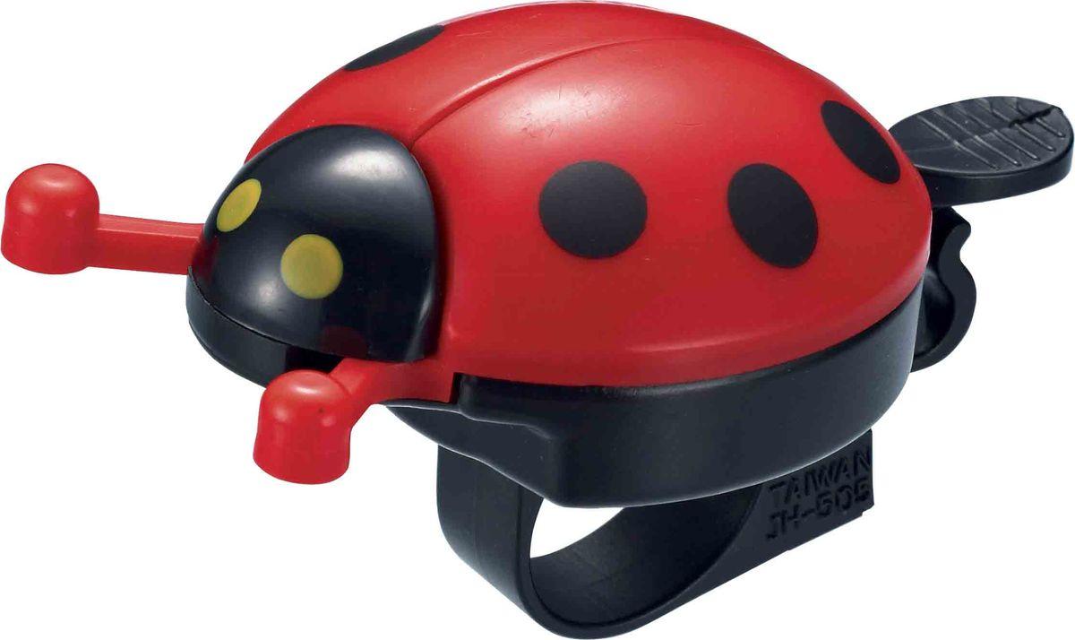Звонок велосипедный Bike Attitude Жучок, на руль 22,2 мм1100Громкий и узнаваемый звук этого звонка поможет обозначить себя на дороге и сделать движение более безопасным. Широкий язычок звонка удобен при использовании даже в перчатках. Звонок устанавливается на рули диаметром от 19 до 26,4 мм.• Безопасен для детей • Для рулей от 19 до 26,4 ммBIKE ATTITUDE – это крупнейший Тайваньский производитель высококачественных велосипедных аксессуаров и запчастей. Уже более 10-и лет Bike Attitude представляет свои товары в 15 странах мира.