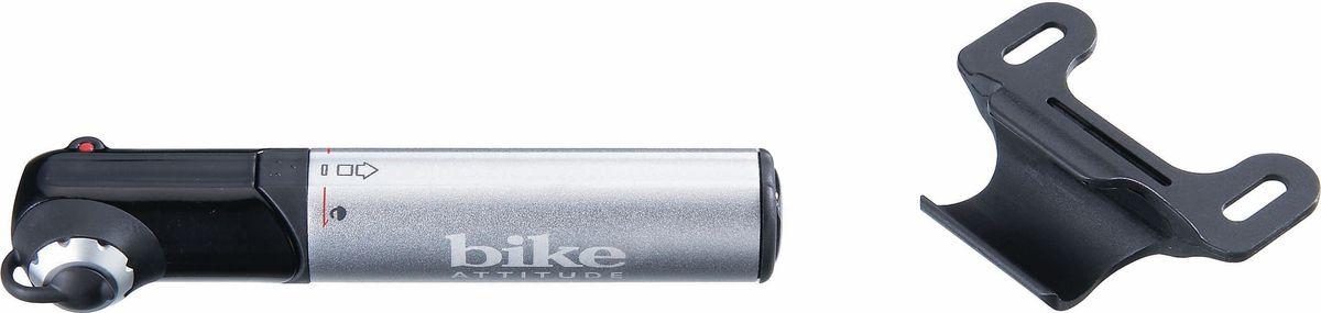 Насос велосипедный Bike Attitude GM42, ручной, цвет: черныйVL-1000Компактный алюминиевый насос, который должен быть у каждого велосипедиста. Легкий и надежный, он поможет справиться с проколом колеса в пути или установлении нужного давления в колесах во время обслуживания велосипеда дома. • Для всех ниппелей: Presta, Schrader и Dunlop. • Накачка давления до 8 Bar (120 Psi) • Алюминиевый корпусBIKE ATTITUDE – это крупнейший Тайваньский производитель высококачественных велосипедных аксессуаров и запчастей. Уже более 10-и лет Bike Attitude представляет свои товары в 15 странах мира.