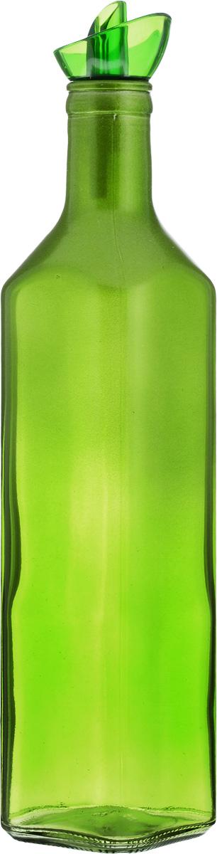 Емкость для масла Solmazer, цвет: зеленый, 500 млVT-1520(SR)Емкость для масла Solmazer выполнена из качественногопрочного цветного стекла с декоративным сверкающимнапылением в верхней части. Она легка в использовании, стоиттолько перевернуть ее, и вы с легкостью сможете добавитьоливковое или подсолнечное масло, уксус или соус. Емкостьоснащена силиконовой пробкой с пластиковым дозатором.Пробка плотно закрывает горлышко, благодаря этому внутрисохраняется герметичность, и содержимое дольше остаетсясвежим.Диаметр горлышка: 3 см. Размер основания: 6 х 6 см. Высота емкости: 27 см.