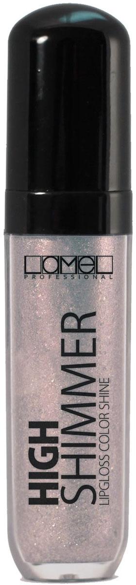 Lamel Professional Блеск для губ High Shimmer 208, 8 мл1301207Роскошный мерцающий блеск, создающий иллюзию более полных губ. Невероятное разнообразие цветов для безупречного сияния ваших губ. Текстура High Shimmer равномерно распределяется по коже невесомым полупрозрачным слоем, не создает ощущения липкости, не скатывается в уголках губ и обладает прекрасной стойкостью.