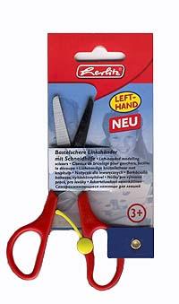 Herlitz Саморазжимающиеся ножницы для левой руки 8740045