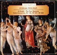 Itzhak Perlman. A.Vivaldi. The Four Seasons. Violin Concertos. 2004 Audio CD
