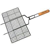 Решетка-гриль «Forester» с антипригарным покрытием,26 х 45 смBQ-N02Решетка-гриль Forester предназначена для приготовления пищи на углях. Изготовлена из высококачественной стали с антипригарным покрытием. Идеально подходит для мангалов и барбекю. Характеристики: Артикль:BQ-NS02. Материал: сталь. Размер решетки: 26 см х 45 см.FORESTER - брэнд с широкими интернациональными традициями и в этом секрет его успеха.FORESTER впитал в себя самое лучшее из созданного предшественниками, поэтому продукция фирмы - это все самое качественноедля вашего пикника! Разработано компанией Ruyan Co, Германия.