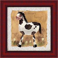 Пятнистый пони (Alex Clark), 18 х 18 см18x18 D2057-10418Художественная репродукция картины Alex Clark Spot the Pony. Размер постера: 18 см х 18 см Артикул: 18x18 D2057-10418.