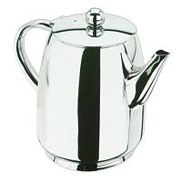 Чайник заварочный Vitesse OlympiaVS-1235Заварочный чайник Olympia, выполненный из высококачественной нержавеющей стали с зеркальной полировкой, предоставит Вам все необходимые возможности для успешного заваривания чая. Чай в таком чайнике дольше остается горячим, а полезные и ароматические вещества полностью сохраняются в напитке. Эстетичный и функциональный, с эксклюзивным дизайном, чайник будет оригинально смотреться в любом интерьере. Диаметр чайника (без учета ручки и носика): 11 см. Высота чайника (без учета крышки): 13 см.