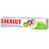 Детская зубная паста Lacalut Kids, 50 млSB 506Детская зубная паста Lacalut Kids разработана специально с учетом специфики стоматологического статуса при смене молочных зубов на постоянные. Низкообразивные микрочастицы мягко удаляют бактериальный налет, предупреждая развитие кариеса и заболевание десен. Аминофторид (олафлур) укрепляет формирующуюся эмаль, ускоряет ее минеральное созревание и повышает устойчивость к воздействию кислот, чем достигается значительное снижение риска возниковения кариеса как молочных, так и постоянных зубов. Появление крепких здоровых постоянных зубов у ребенка является лучшим подтверждением профессионального подхода к гигиене полости рта, характерного для Lacalut. Характеристики: Объем: 50 мл. Рекомендуемый возраст: 4-8 лет. Производитель: Германия.Товар сертифицирован. Свою историю стоматологическая торговая марка Lacalut ведет с начала 20-х годов XX века. Высочайшее качество и эффективность обеспечили ей признание у специалистов и популярность у потребителей более 50 стран мира, и по праву считается лидером среди лечебно-профилактических средств гигиены полости рта. Сегодня Торговая марка Lacalut включает в себя целую гамму средств - зубные пасты, ополаскиватели, зубные щетки, зубные нити (флоссы), а также средства для зубных протезов. Таким образом, с помощью торговой марки Lacalut возможно комплексное решение любой проблемы в полости рта как у взрослых, так и у детей. Название Lacalut происходит от главного активного вещества – лактат алюминия. Лактат алюминия – это соль молочной кислоты, которая обладает ярко выраженным вяжущим и противовоспалительным действиями.Благодаря своему уникальному действию, Lacalut рекомендуется в первую очередь людям, страдающим воспалительными заболеваниями пародонта и полости рта, кровоточивостью десен, а также для защиты от кариеса и гиперчувствительности зубной эмали, в том числе на фоне воспаления тканей пародонта. Lacalut - самый компетентный уход за зубами!