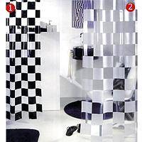 Штора Matto white, 180 х 200 см1000376Штора для ванной комнаты Matto white изготовлена из полихлорвинила. В верхней кромке шторы сделаны отверстия для колец. Штору можно стирать в стиральной машине при температуре не выше 40 градусов. Шторы от компании Spirella отличает яркий, красочный дизайн рисунков и высокое качество (гарантия на изделие 3 года). Сделайте вашу ванную комнату еще красивее! Характеристики: Материал: полихлорвинил. Размер шторы: 180 см х 200 см. Цвет рисунка: белый. Артикул: 1000376. Изготовитель: Швейцария. Уважаемые клиенты! Обращаем Ваше внимание на то, что представленные здесь шторы обозначены на картинке цифрой 2.