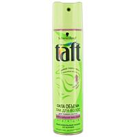 Лак для волос Taft Сила объема, сверхсильная фиксация, 225 мл9062082Лак для волос Taft Сила объема не склеивает волосы, легко удаляется при расчесывании. Push-up эффект 24 часа - от корней. Не утяжеляет волосы и легко удаляется при расчесывании. Senso Touch эффект - долговременная фиксация и ощущение естественных волос - без склеивания. Специальная формула Tatf три погоды с УФ-фильтром защищает ваши волосы от солнца, ветра и влажности. Характеристики: Объем: 225 мл. Производитель: Германия. Товар сертифицирован.