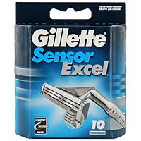 Сменные кассеты для бритья Gillette Sensor Excel, 10 шт.GESS-131Gillette - лучше для мужчины нет!Бритвенные кассеты для Gillette Sensor Excel. - 2 последовательно расположенных хромированных лезвия. - 5 микрогребней. - Смазывающая полоска.Сменные кассеты с двумя лезвиями для чистого и комфортного бритья по доступной цене. Характеристики:Комплектация: 10 сменных кассет. Товар сертифицирован.Состав смазывающей полоски: PEG-115M, PEG-7M, PEG-100, BHT.