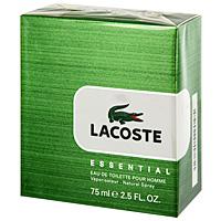 Lacoste Туалетная вода Essential, 75 мл0737052483238Уникальный аромат Lacoste Essential – это квинтэссенция свежести и энергии. Верхняя нота: мандарин, бергамот, листья помидора. Средняя нота: черная смородина, черный перец. Шлейф: пачули, сандал. Lacoste Essential - яркое отражение философии марки: стремление к свободе, умение отдыхать и наслаждаться жизнью. Этот свежий и современный аромат, сочетающий пряные и древесные ноты - настоящая классика. Дневной и вечерний аромат.