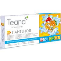 Концентрат Teana Пантенол, 10 ампул1014Концентрат Teana Пантенол эффективно омолаживает, укрепляет и увлажняет кожу. Направленное действие пантенола (витамина В5) стимулирует синтез коллагена и эластина, обеспечивает клеточное восстановление. Кожа обновляется, становится более гладкой и упругой, разглаживаются морщинки, замедляется процесс старения, восстанавливается естественная эластичность. Ампулированная органическая косметика предназначена для решения специфических проблем кожи, способствует усилению любой программы ухода Teana. Содержит активные компоненты оптимальной концентрации в точной дозировке. Одноразовая упаковка, изготовленная из фармацевтического стекла, обеспечивает отсутствие окисления ингредиентов и гарантирует высокую активность препаратов. Активные компоненты: Д-пантенол. Применение: Небольшое количество концентрата нанесите на кожу, деликатно вбивая подушечками пальцев до полного впитывания (при отсутствии гиперчувствительности кожи). Также можно использовать...