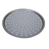 Форма для пиццы Tescoma Delicia, круглая, с антипригарным покрытием, диаметр 32 см94672Круглая форма для выпечки Tescoma Delicia выполнена из высококачественной стали и снабжена антипригарным покрытием, что обеспечивает форме прочность и долговечность. Форма с перфорированным дном идеально подойдет для приготовления пиццы. Равномерное распределение тепла способствует образованию корочки на выпекаемых изделиях. Данную форму легко чистить. Готовая выпечка без труда извлекается из нее. Изделие устойчиво к воздействию фруктовых кислот. Форма подходит для использования в духовке с максимальной температурой 250°С. Перед каждым использованием форму необходимо смазать небольшим количеством масла. Чтобы избежать повреждений антипригарного покрытия, не используйте металлические или острые кухонные принадлежности. Можно мыть в посудомоечной машине.