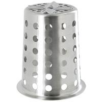 Подставка для кухонных принадлежностей Premier HousewaresVT-1520(SR)Подставка для кухонных принадлежностей Premier Housewares поразит любого своей практичностью. Она выполнена из нержавеющей стали и представляет собой круглую чашу с высокими стенками, поокружности которой есть отверстия. Изделие очень удобно, практично и не займет много места на Вашей кухне. Характеристики: Материал:нержавеющая сталь. Диаметр по верхнему краю: 11,5 см. Высота: 13 см. Артикул: 0508905. Производитель: Великобритания.