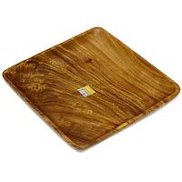 Поднос Monkey Pod 33 cм х 33 смVT-1520(SR)Представляем вашему вниманию поднос Monkey Pod, выполненный из дерева. Оригинальный дизайн подноса идеально впишется в интерьер вашей кухни или будет достойным подарком для родных и друзей. Характеристики: Материал:дерево. Размер: 33,5 см х 33,5 см х 3,5 см. Артикул: 1104575. Изготовитель: Великобритания.